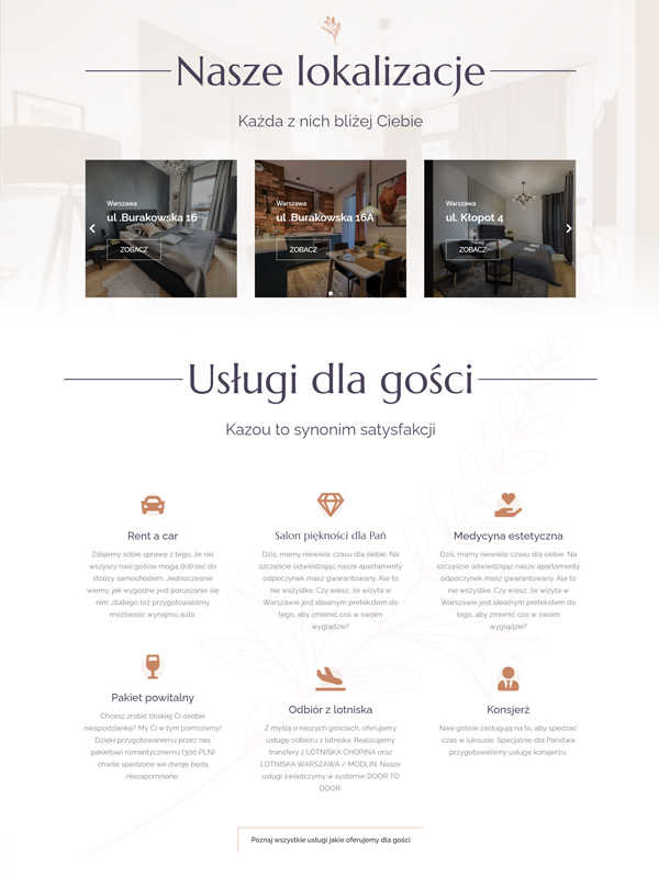 %Strony internetowe WordPress Strony internetowe dla hoteli
